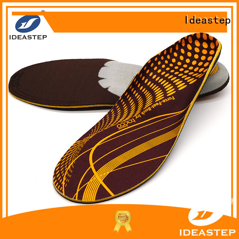 Ideastep Custom walking boot insoles company for sports shoes making