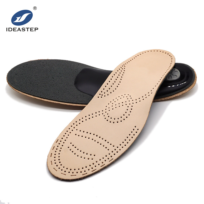 Thin semi rigid arch support orthopedic insoles for flat feet Ideastep 574-5#