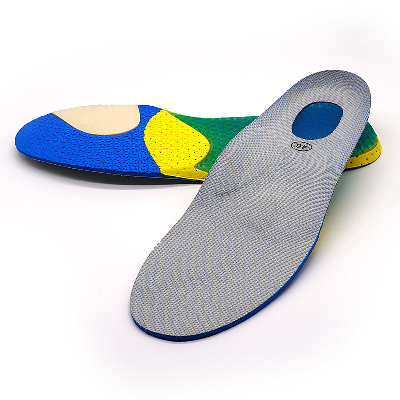 Multifunctional Athletic anti fatigue shock absorber running insoles Ideastep