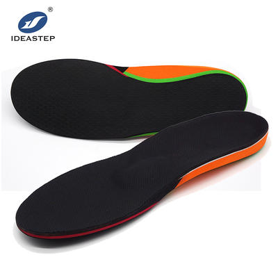 Custom made foot orthotic orthopedic shoe insoles Ideastep #DZ001