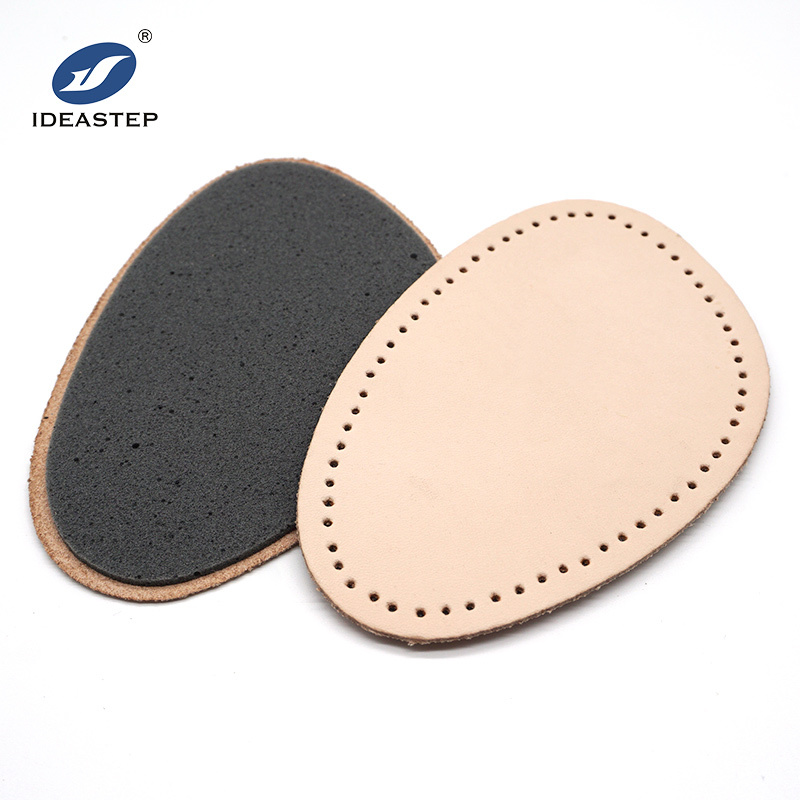 leather orthopedic shoe insoles breathale foam Ideastep 574-9#