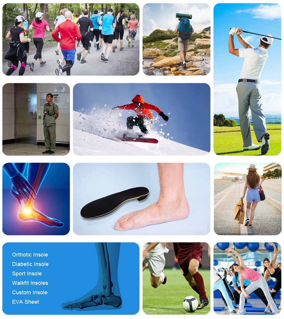 Latest padded insoles manufacturers for sports shoes making-11