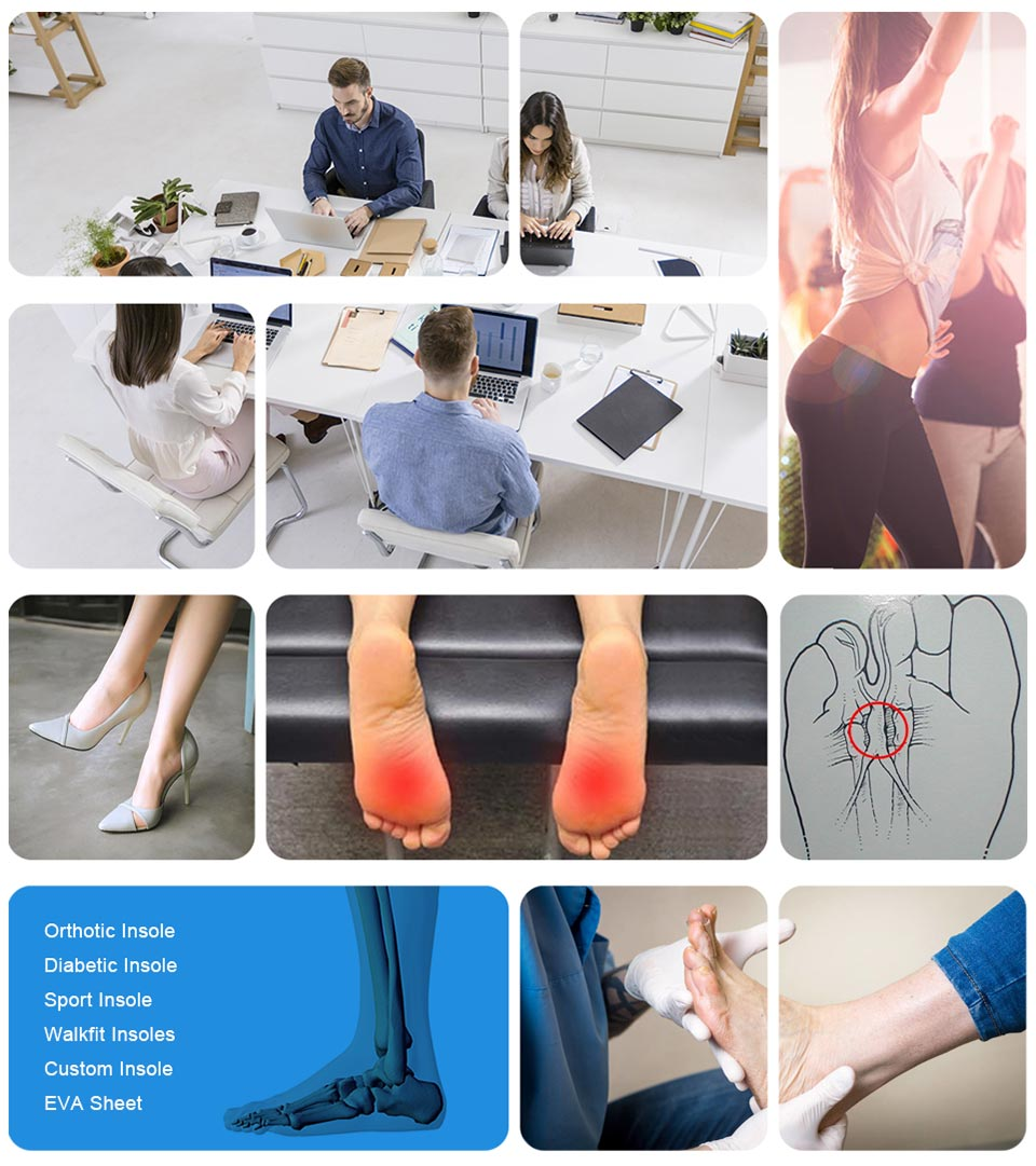 Wholesale cushioned arch support insoles company for shoes maker-11