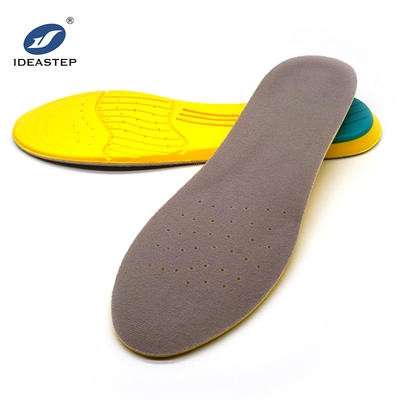 Breathable soft PU insole shock absorber sport shoe insole ideastep KW5659#