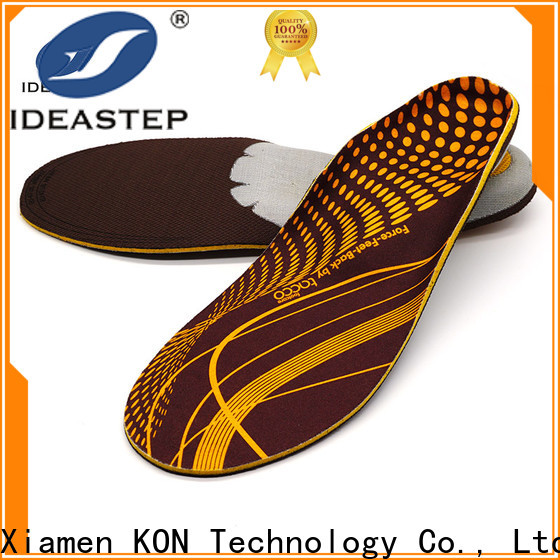 Ideastep Wholesale best arch support insoles for running manufacturers for hiking shoes maker