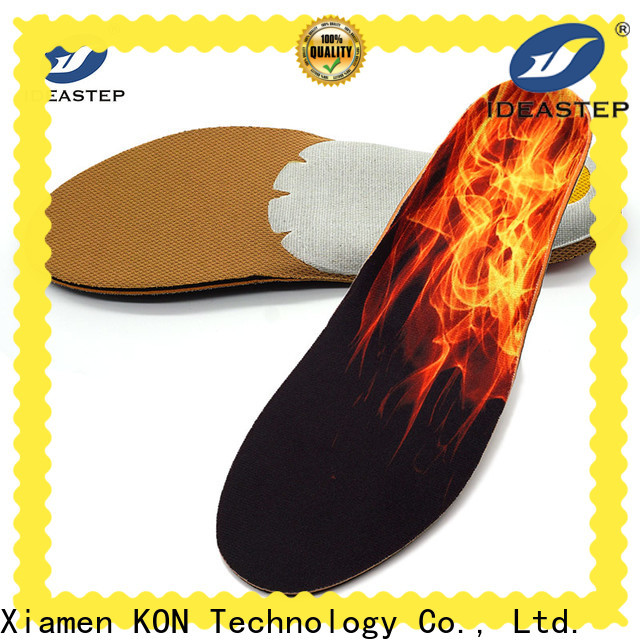 Ideastep heat insoles shoes suppliers for sports shoes maker