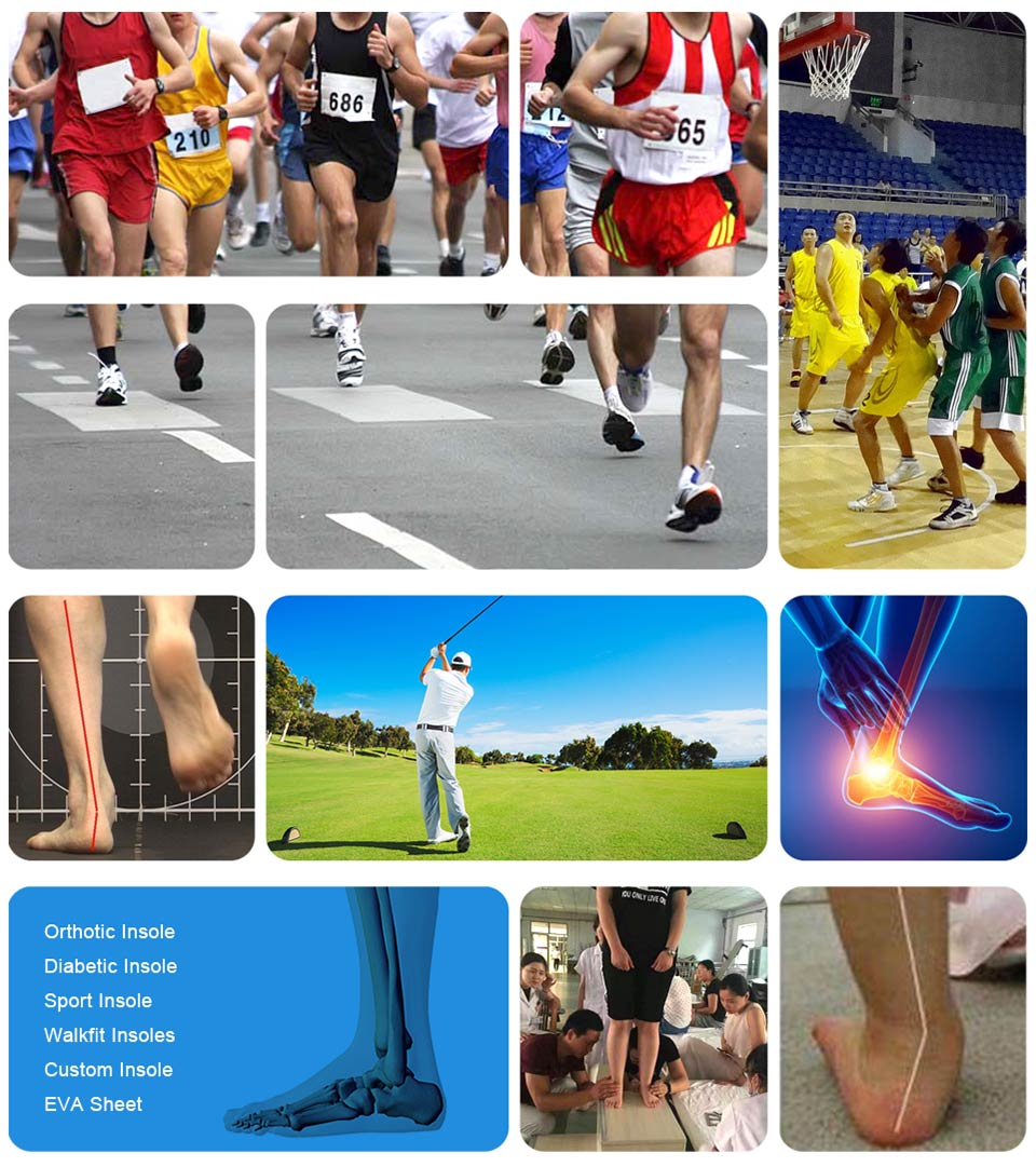 Custom running shoe inserts for pronation manufacturers for sports shoes maker-11