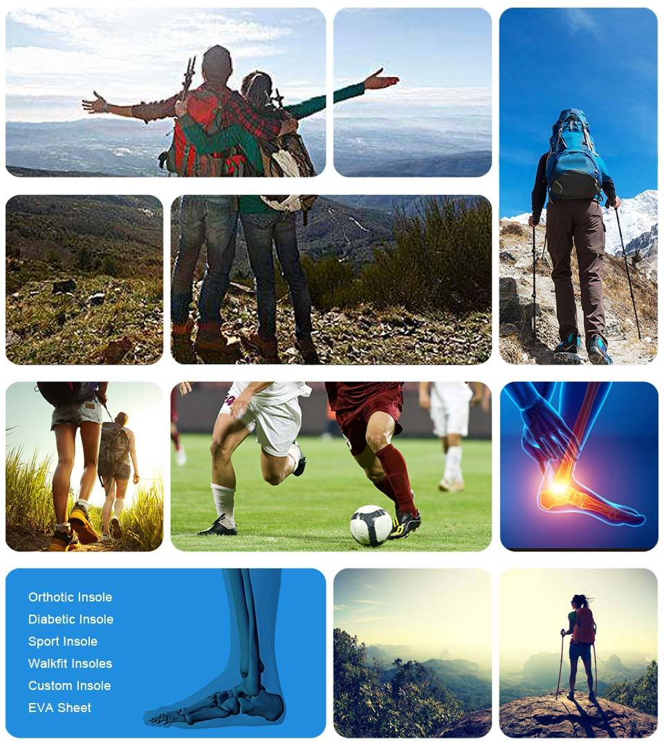 Ideastep hiking shoe insoles manufacturers for shoes maker