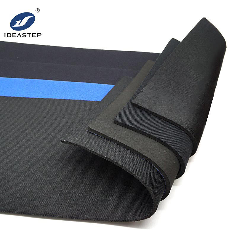 Neoprene foam sheets or SBR foam rubber laminated with fabric Ideastep KE2SBR#