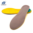 Flat Cushion foam sponge arch support PU running insoles Ideastep KS1659