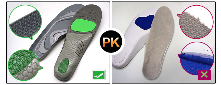 Ideastep Wholesale running shoe insoles for overpronation manufacturers for shoes maker-10