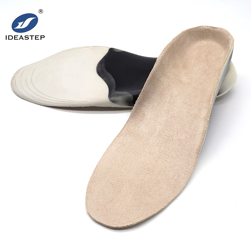 3/4 plastic shell arch support with deep heel cup PU insole Ideastep KO11320