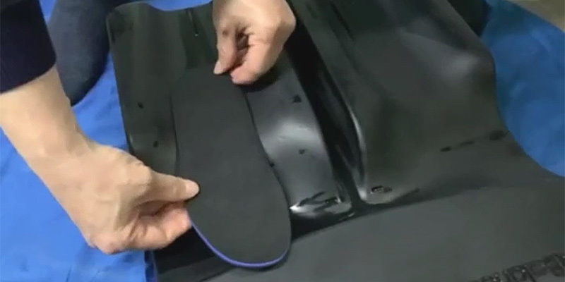 Custom heat-moldable insole developed in china