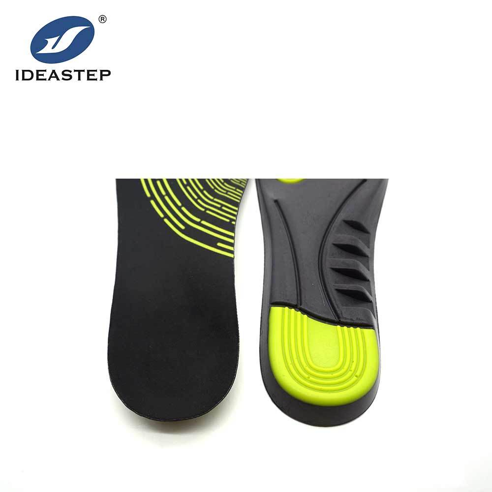 Outdoor PU soft shock-absorbing insole