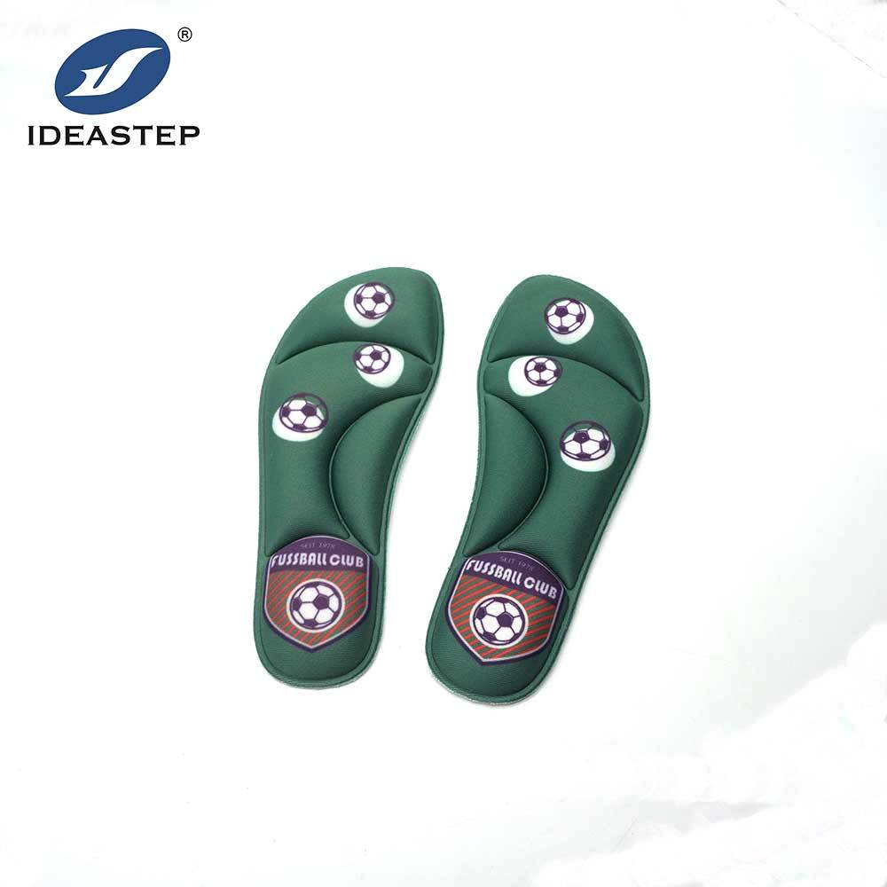 IDEASTEP absorb sweat fashion soft comfort memory foam foot cushion insoles for shoes children cheap insole
