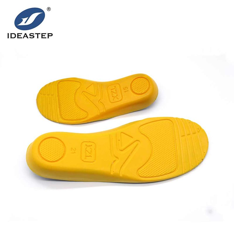 PU Soft Arch Support Children Insole Cushioning Shock Absorption Shoe Insert for Sport