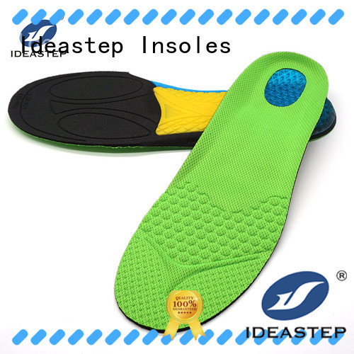 Ideastep Custom heel and arch support insoles company for shoes maker